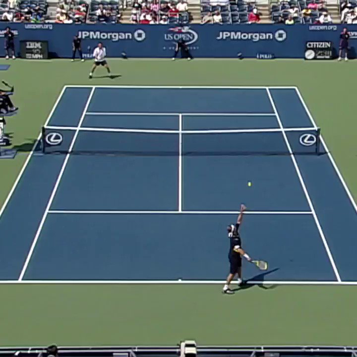 When you've decided that you're done with Monday... 😂😂😂 🎥: Safin 🆚 Nalbandian 2006 #USOpen