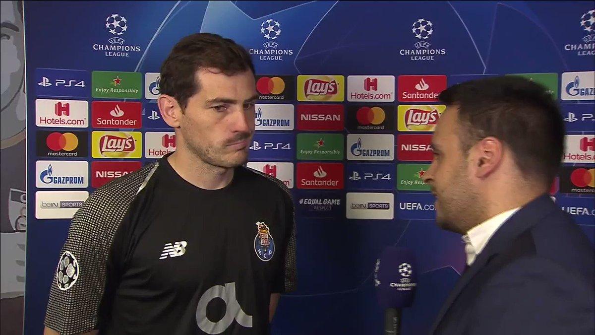 Casillas hablando portuñol es lo mejor que vas a ver esta noche.