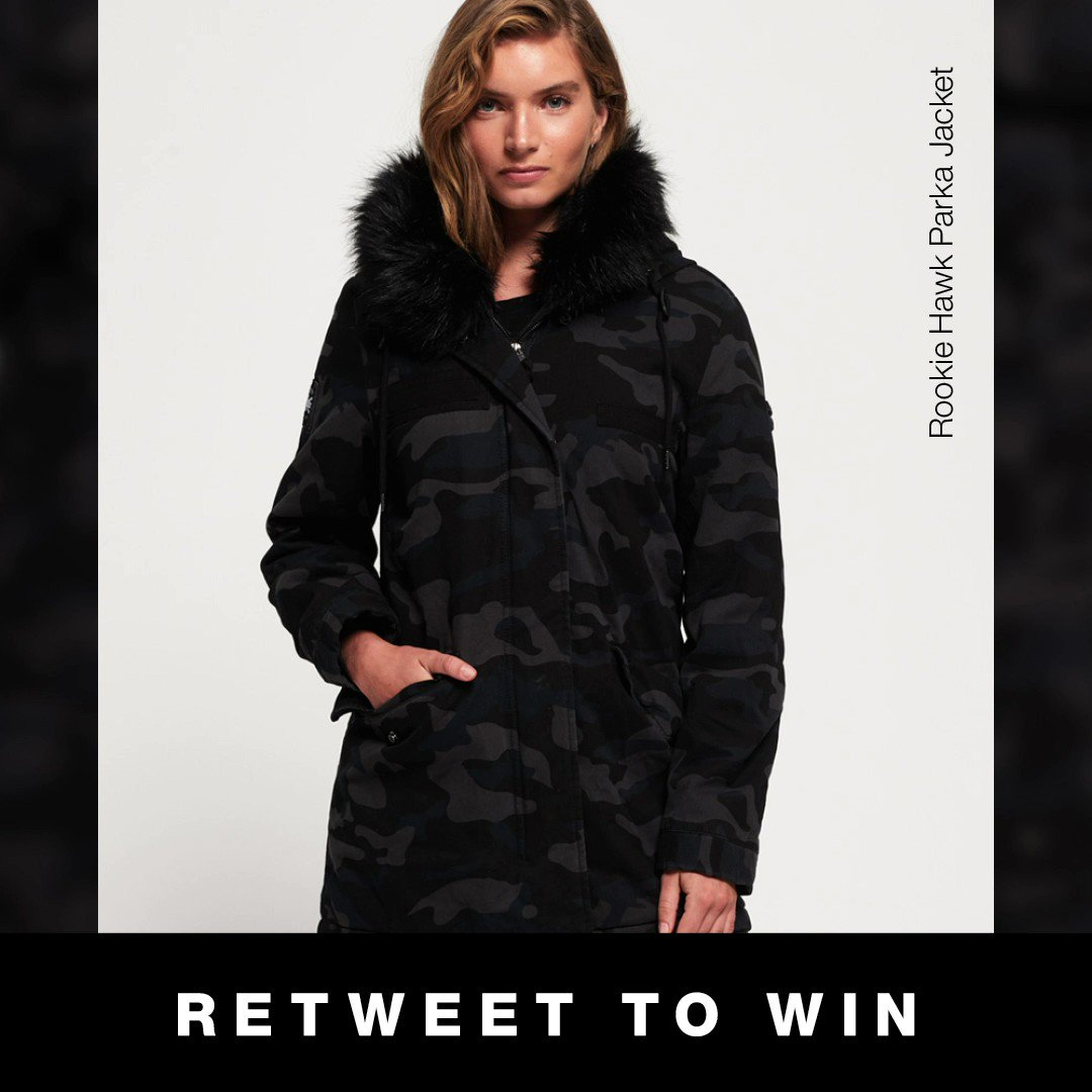 🚨 COMPETITION 🚨 RT, COMMENT AND FOLLOW @Superdry for a chance to win our Rookie Hawk Parka Jacket, closes midnight tonight, T&Cs apply: sdry.co/2mDkI9f #MySuperdry #WednesdayWisdom