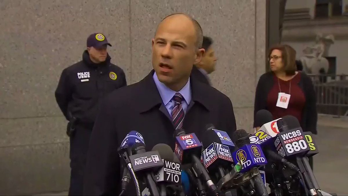 Michael Avenatti: 'This nation owes a sense of gratitude to my client Stormy Daniels.' https://t.co/TROumH6IqB https://t.co/NNjfY6kfeO