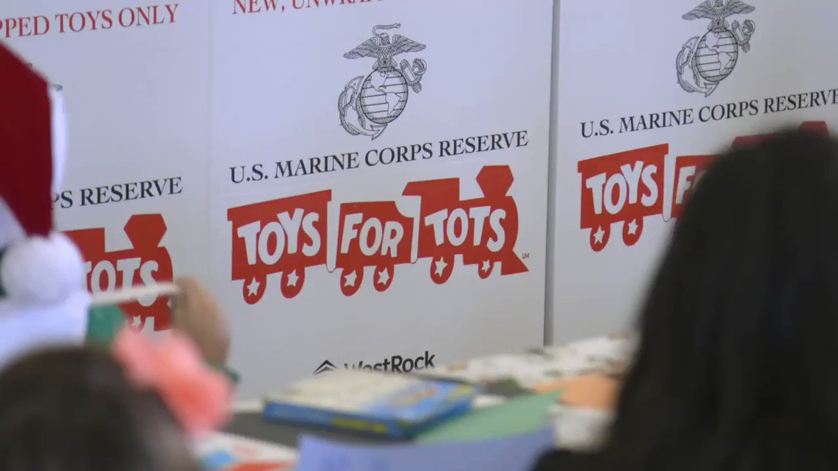 Thank you to the @USMC for another successful @ToysForTots_USA drive! What a wonderful way to give back in your community this Christmas season.