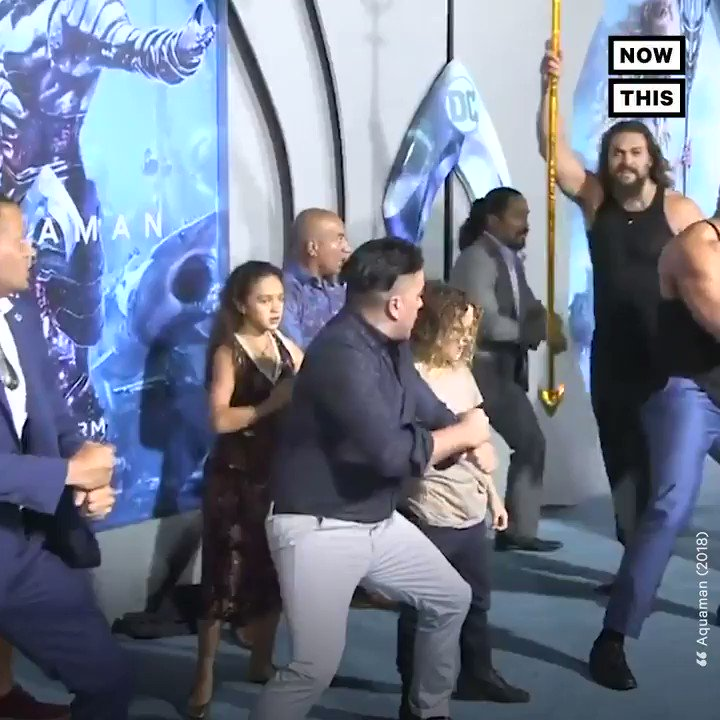 NowThis's photo on Jason Momoa