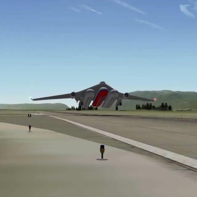 This #airplane consist of a single air wing ✈️  #Transportation #transport #aerospace #innovation   @HaroldSinnott  @alvinfoo @YuHelenYu @MHcommunicate @Fede_Aguggini @jblefevre60 @SBourremani @DigitalisHomo @sallyeaves @WorldTrendsInfo @rtehrani @leimer