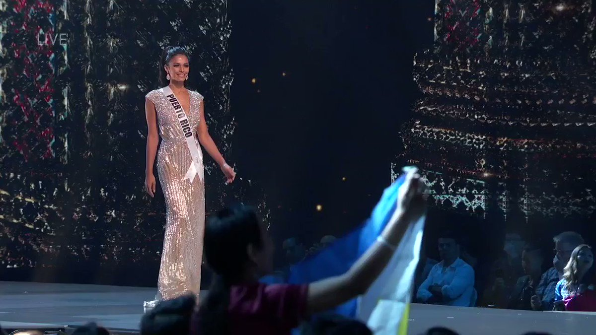 Were here for that confidence 🙌 #MissUniverse airs LIVE Sunday, Dec 16 at 7pm ET only on @FOXtv.