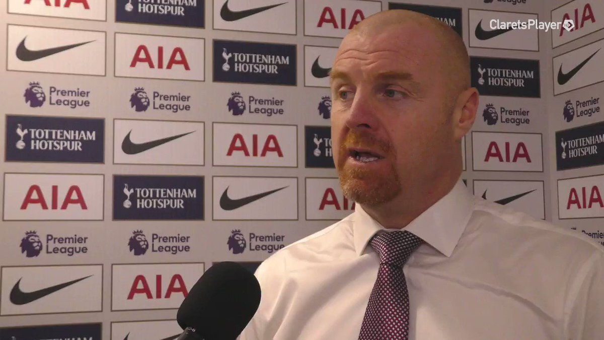 REACTION | Disapointed for all, but a lot of good signs again Sean Dyche gives his thoughts after coming away from Wembley empty handed. WATCH ➡️ bit.ly/2rE09xf