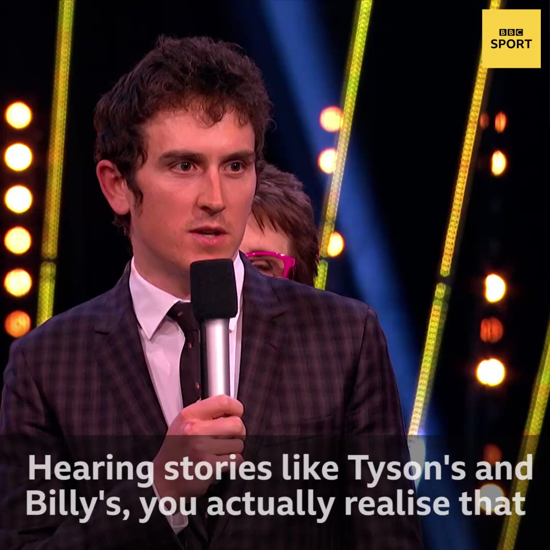 Geraint Thomas says the fans really DO make the difference for the athletes. #SPOTY