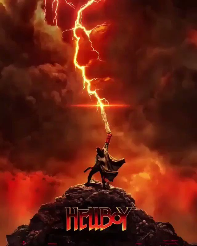 🔥First #Hellboy trailer arrives this Thursday 🔥