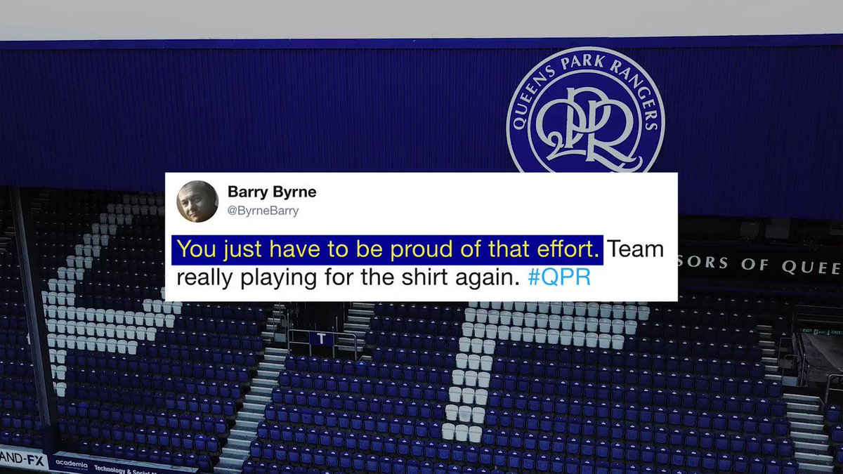 🤩 The feel-good factor is returning to Loftus Road. Are you? #QPR1920
