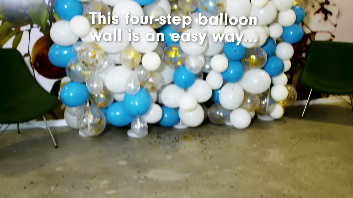 Your friends will lost it over this balloon wall. hsbu.us/VlWOB8J