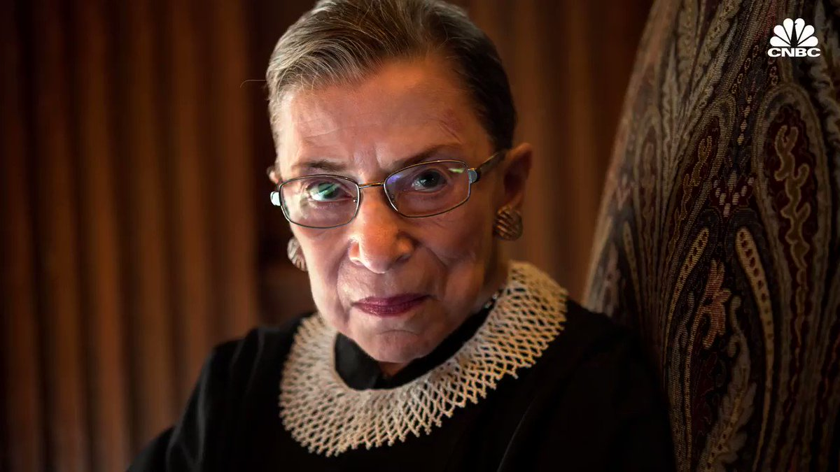CNBC's photo on justice ginsburg