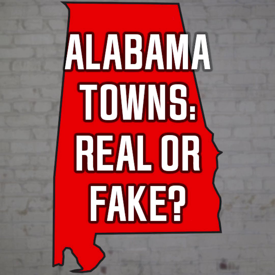 Can you guess if these Alabama towns are real or fake?