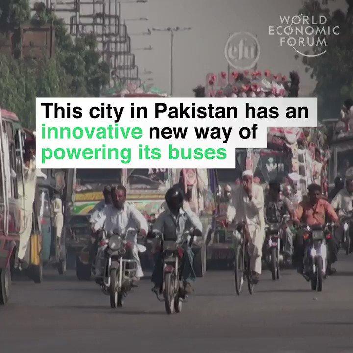 It all has to go somewhere...   📕 Read more: https://wef.ch/2QgkWRz #pakistan #environment