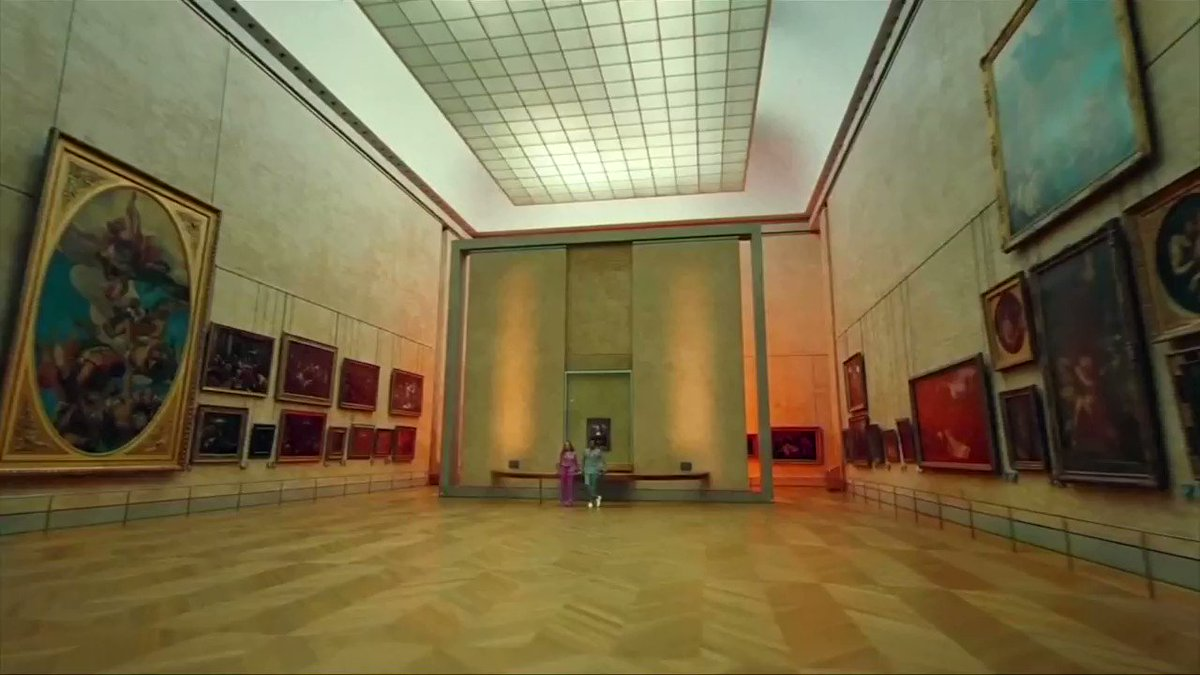 Beyonce and Jay-Z's music video helps to boost the Louvre in Paris to a record number of visitors