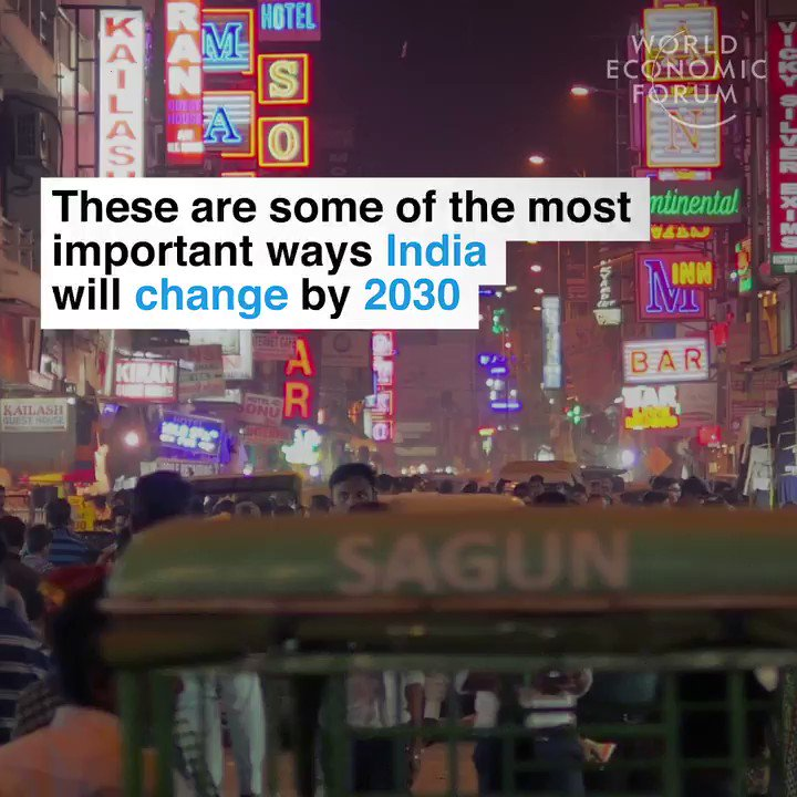 5 things about India by 2030:  1. 2nd largest economy (GDP) > US  2. More than 1 billion internet users 3. 77% or population under age 44 4. 80% of population is middle class 5. $5.7 trillion consumer spending   https://t.co/7L2fefo9dj  via @ValaAfshar   https://t.co/gVcfKclNlN