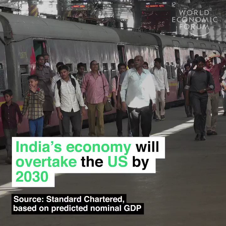 India 🇮🇳 will have over 1 billion internet users and a larger economy than the U.S. by 2030   #NASSCOM_TLF http://wef.ch/2CWvHow