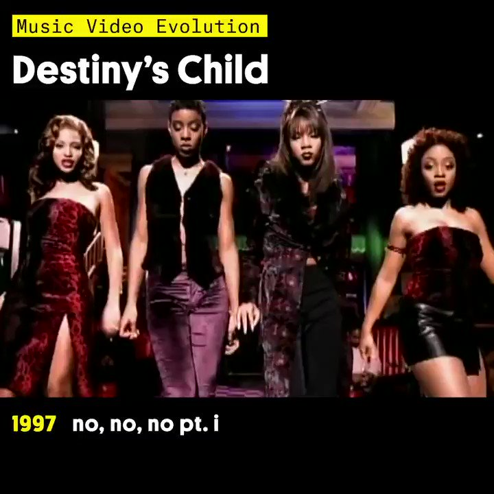 """On this day in 2000, @destinyschild's """"Say My Name"""" ruled the Hot R&B/Hip-Hop Songs chart 🔥"""
