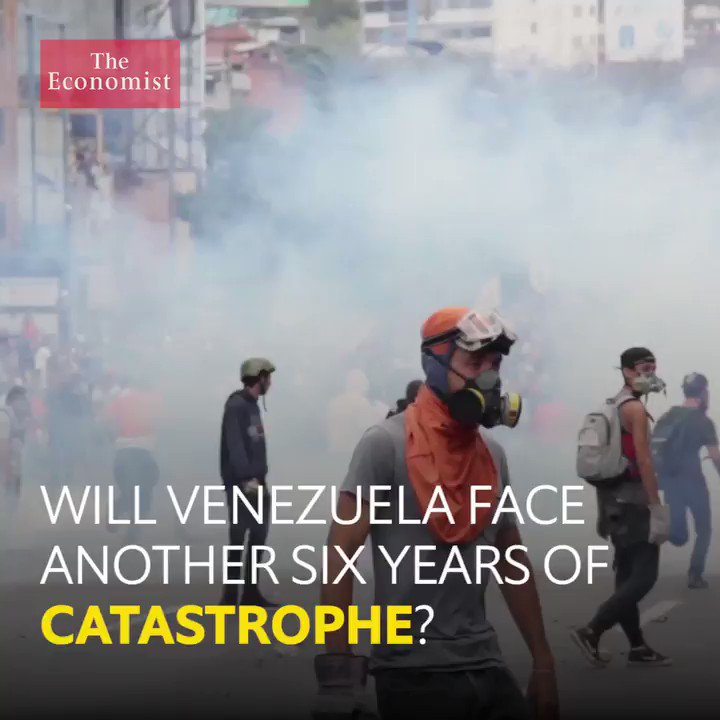 RT @TheEconomist: Why Venezuela could face another six years of catastrophe https://t.co/rJCvvwhehH