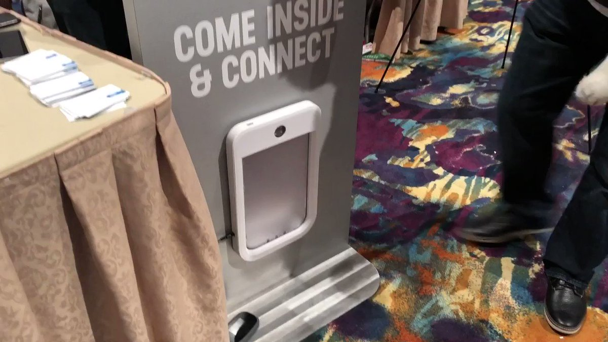 Even doggy doors are getting a dose of smart home tech. #CES2019