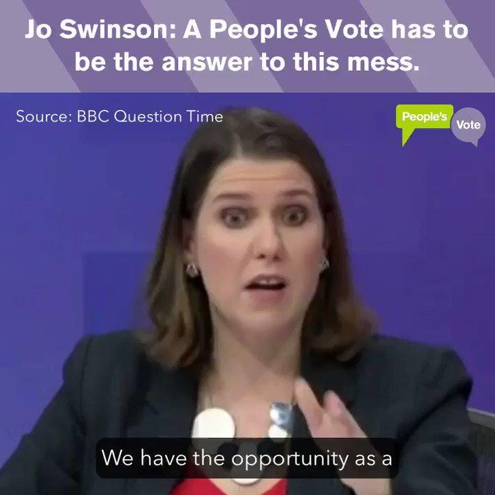 People's Vote UK's photo on #bbcqt