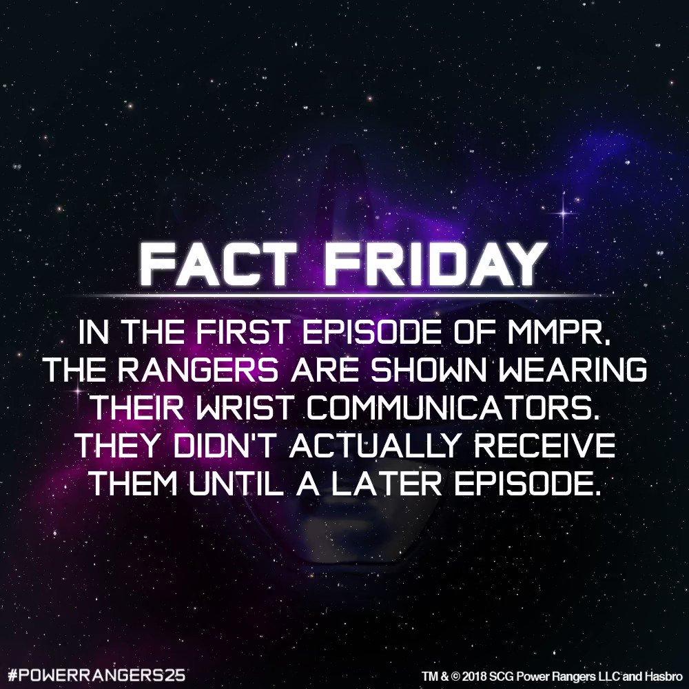 Power Rangers's photo on #FactFriday