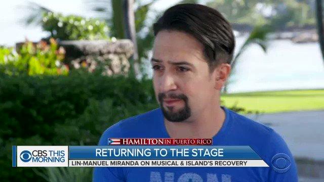 CBS This Morning's photo on #HamiltonPR