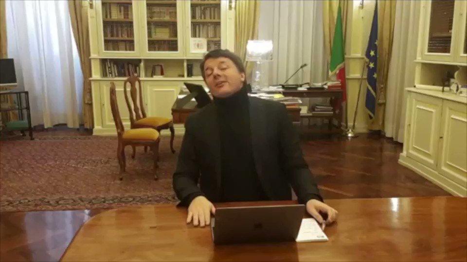 Matteo Renzi's photo on Fabrizio De Andrè