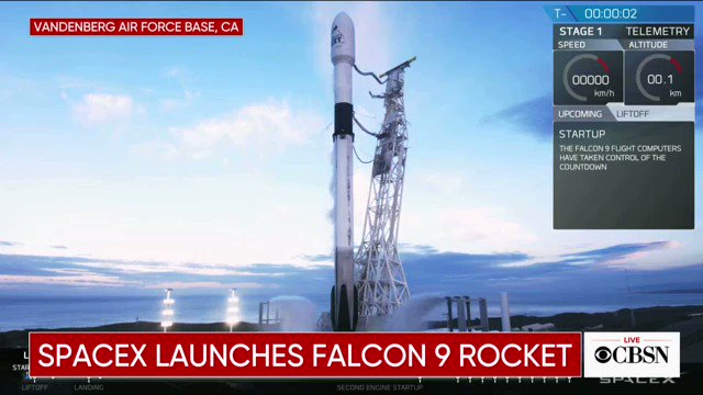 CBS News's photo on falcon 9