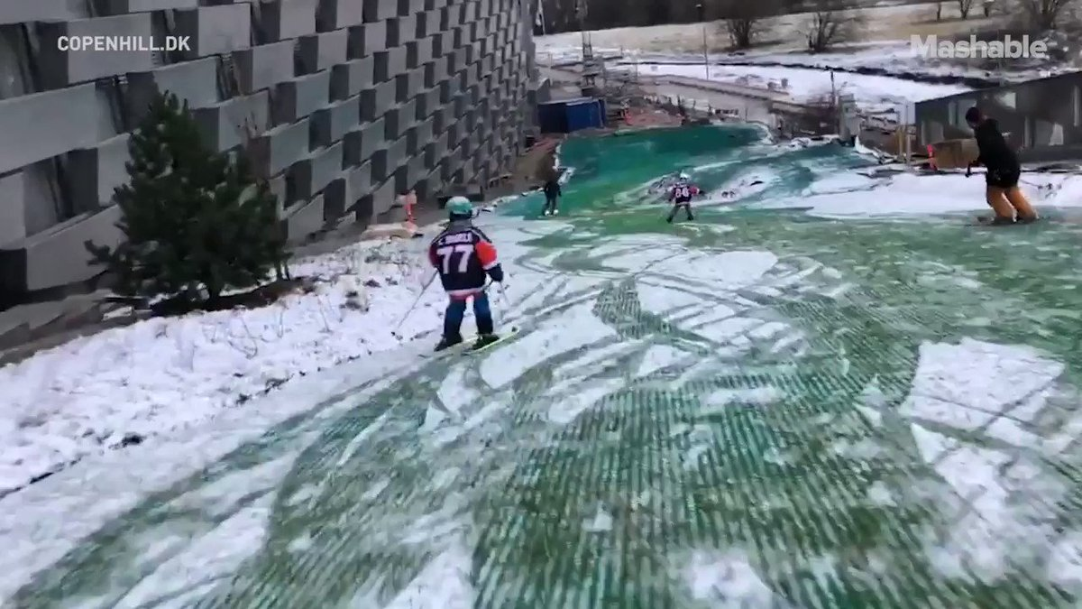 There's more to this ski slope than meets the eye