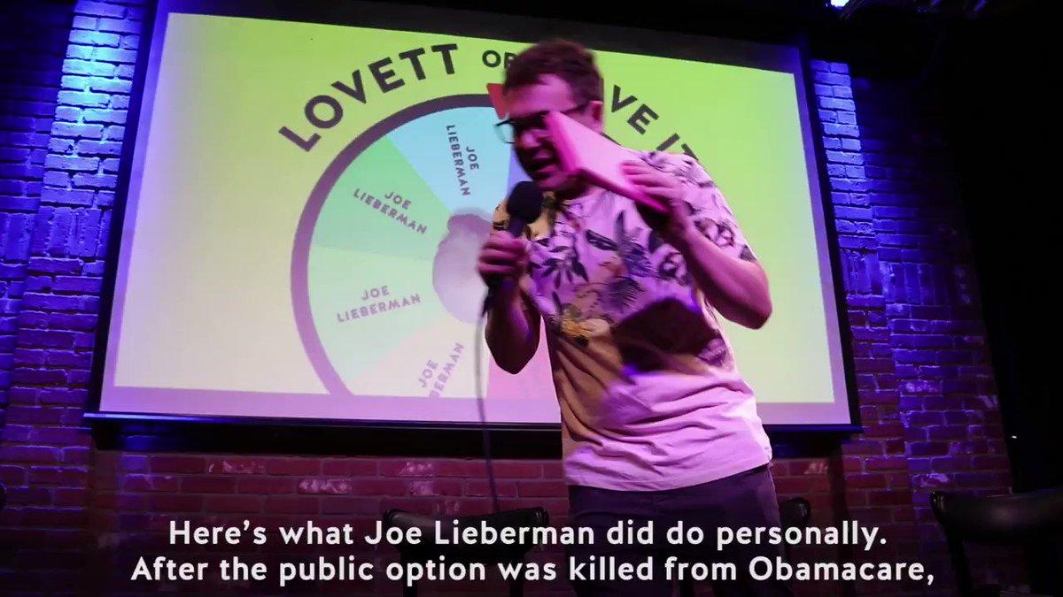 Crooked Media's photo on Joe Lieberman