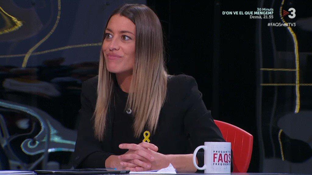 Jéssica Albiach's photo on #FAQSneilTV3