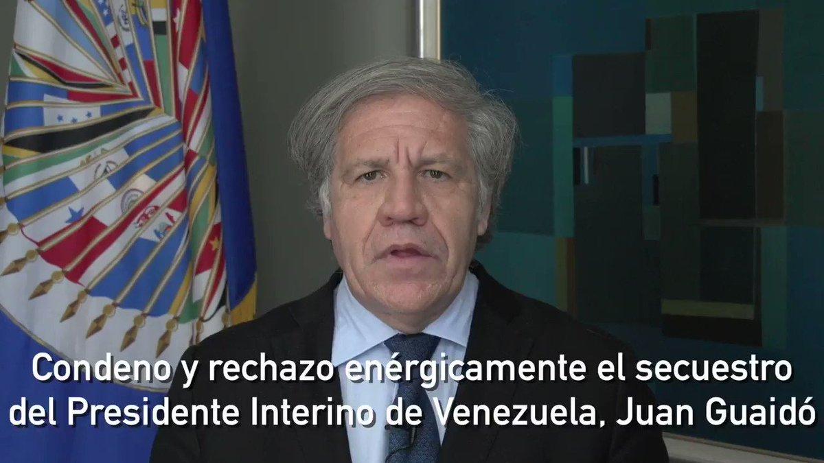 Luis Almagro's photo on Juan Guaidó