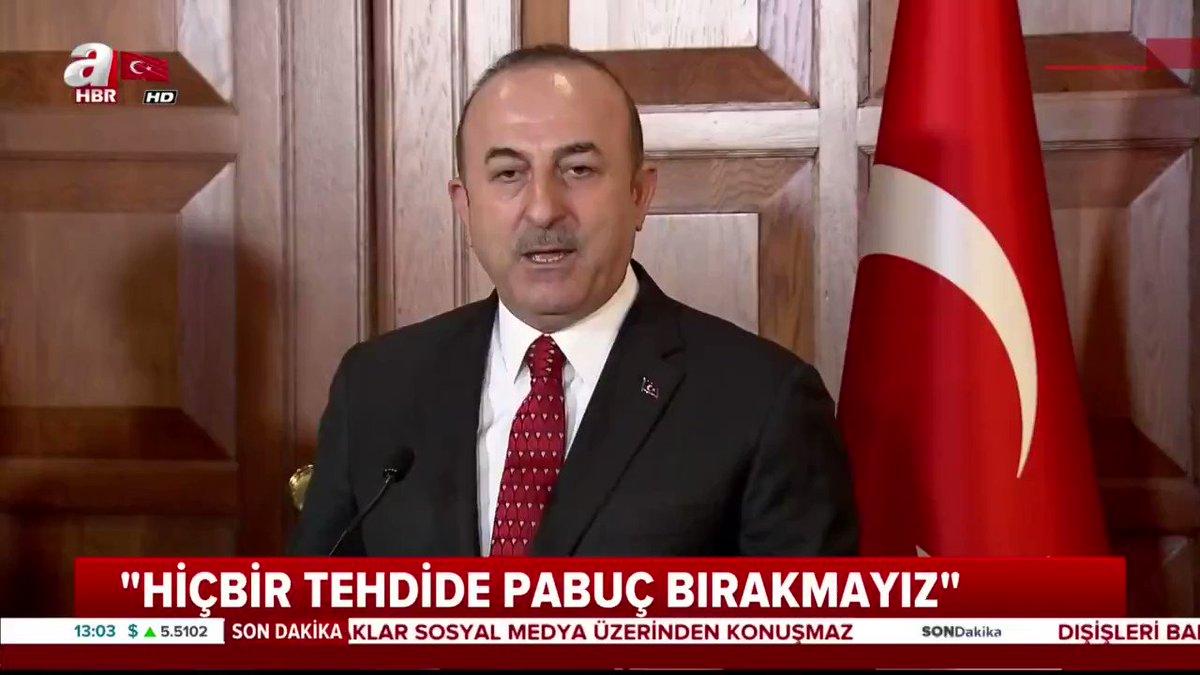 Bakan Çavuşoğlu: Stratejik ortaklar sosyal medyadan konuşmaz https://t.co/WOI8qeLQQR