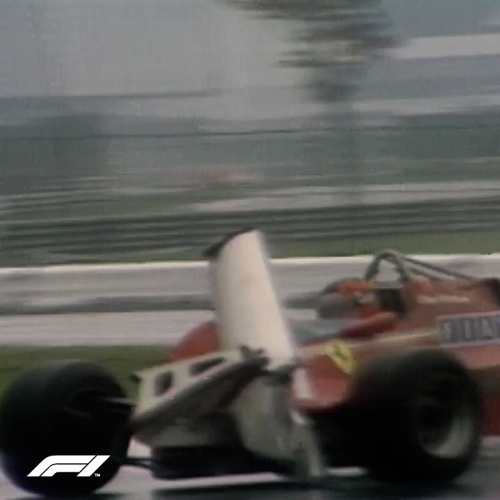 No vision. No grip. No surrender. No problem.  One of #F1's brightest stars was born #OnThisDay in 1950! Here's a classic bit of Gilles Villeneuve doing his thing, to mark the occasion 🎥