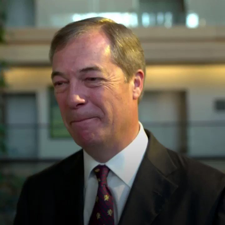 """""""You cannot rant against the elite when you're behaving like one of its members.""""  @Nigel_Farage is challenged about taking a private plane overnight to get from London to Strasbourg.  #72DaysToBrexit"""