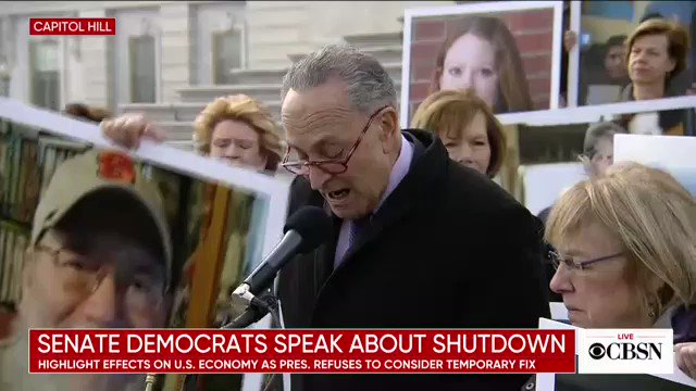 Image for the Tweet beginning: WATCH NOW: Senate Democrats appear