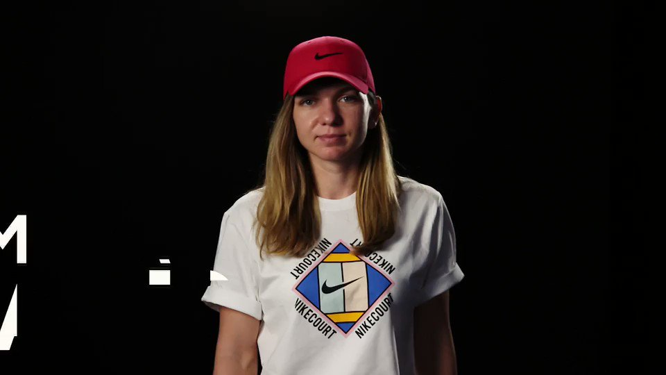 Someone get Simona Halep a hard hat. 👷♀️ She dug deep in round one. #AusOpen #sleepisfortheweak
