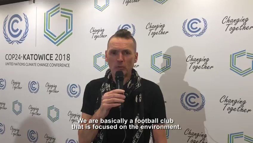 In December, the sports sector & @UNFCCC launched the Sports for #ClimateAction framework to drive emission reductions of sports operations. We spoke with @DaleVince of @FGRFC_Official about how it has become the world's first carbon neutral football club.