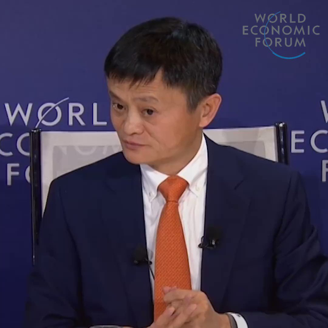 """Best of Davos 2018: """"Everything we teach should be different from machines"""". Read more: http://wef.ch/2E6fH2p #wef19 #education"""