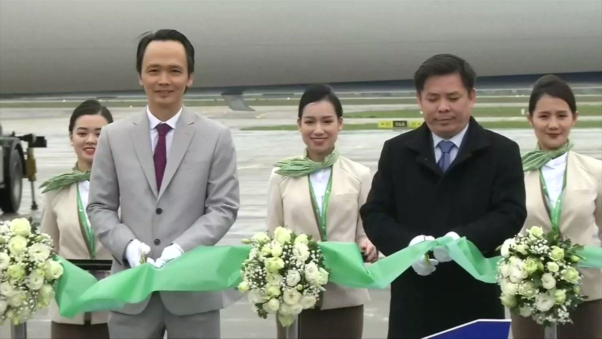 Start-up Bamboo Airways completes first commercial flight https://reut.rs/2FDg4Eu