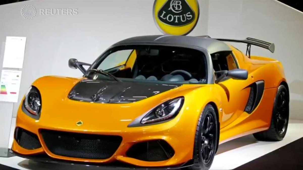 British Lotus cars to be 'Made in China' at new $1.3 billion Geely plant https://reut.rs/2SXwlb5 via @ReutersTV