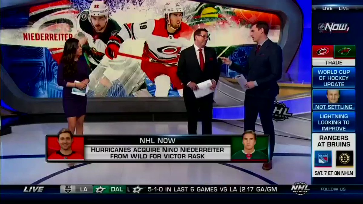Who won the trade? #NHLNow