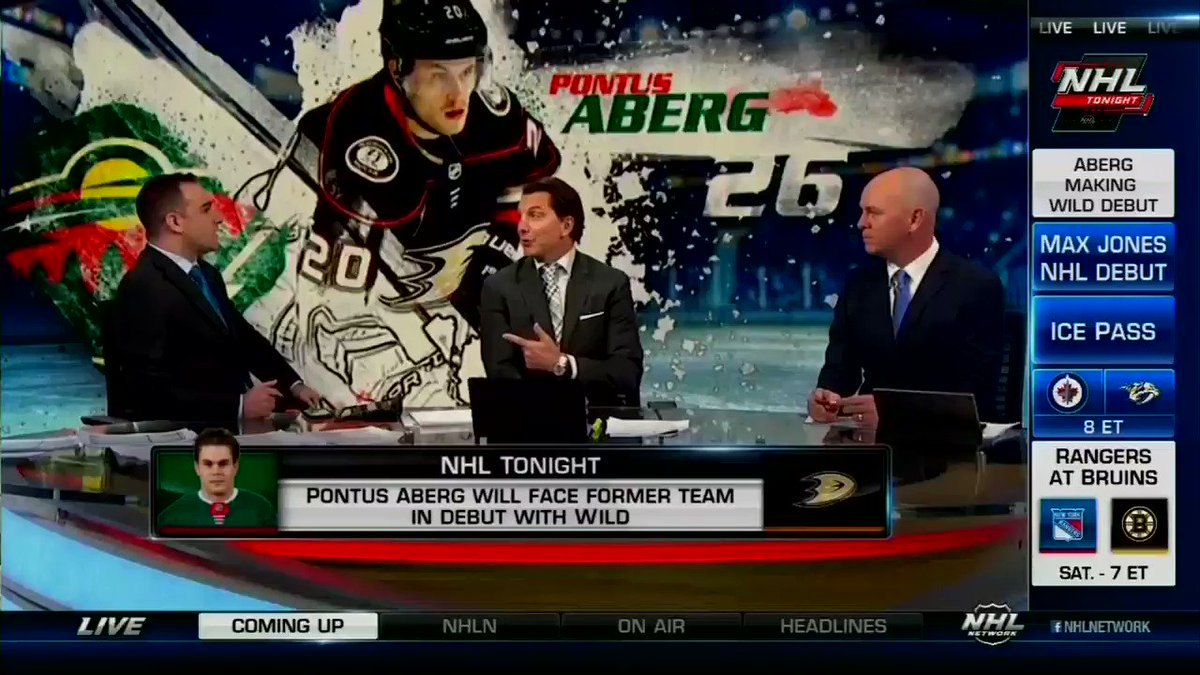 More lineup changes to come? #NHLTonight #mnwild