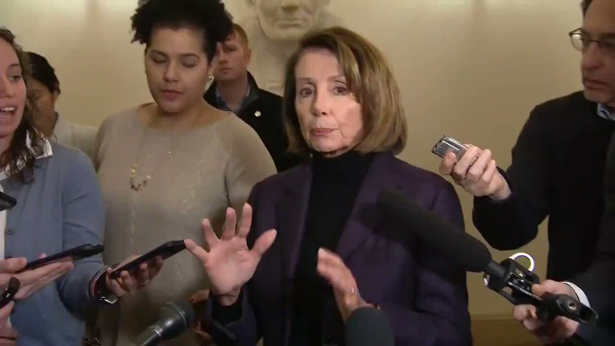 """Nancy Pelosi on Afghanistan: """"We'll go again. We'll go another time. This would have been my ninth trip... to see what the needs are of our men and women in uniform, honor those needs, and thank those troops."""" http://hill.cm/Ww0O4iN"""