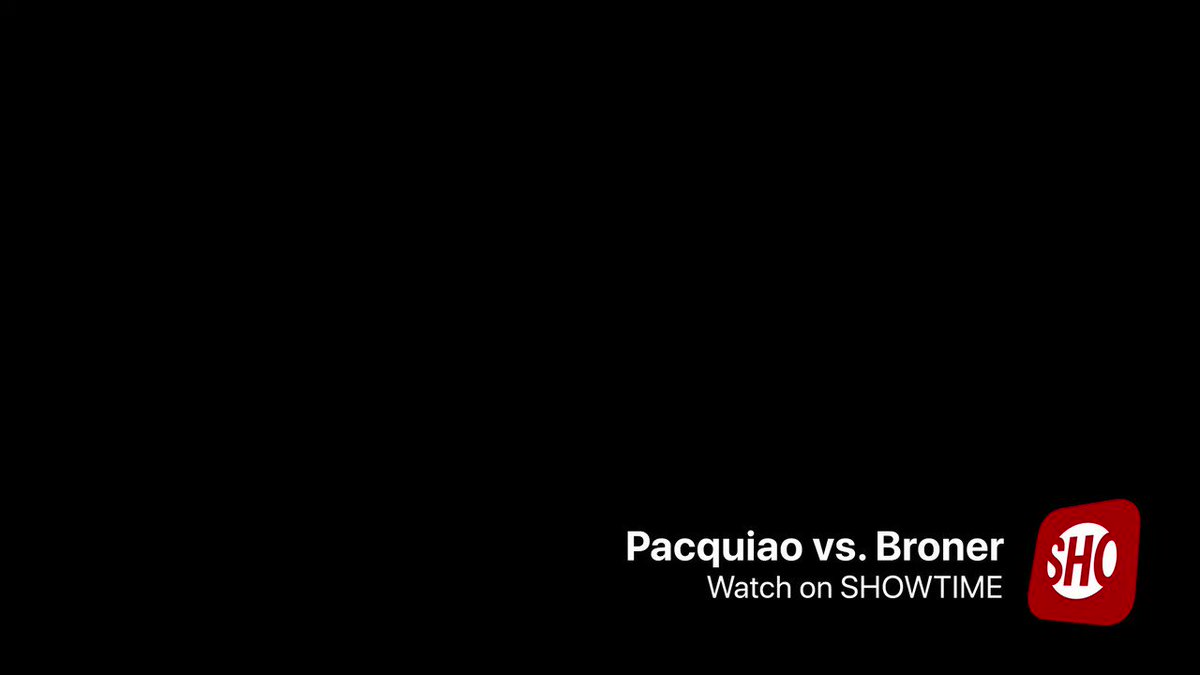 🗣 Pacquiao vs. Broner on @Showtime tonight!!!Are you ready...We are 💥🥊#PacBroner