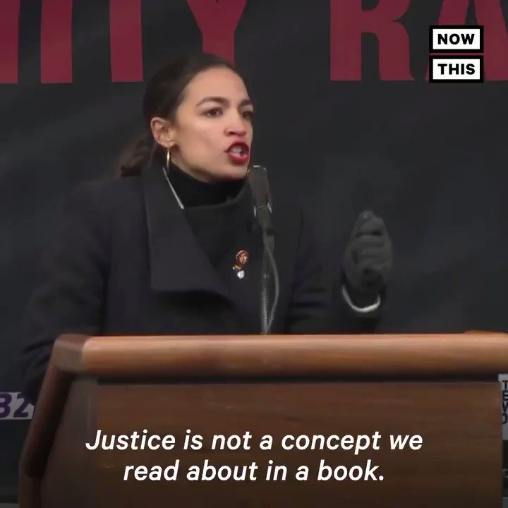 Alexandria Ocasio-Cortez Speech at 2019 Women's March Nods at the Elephant in the Room of This Year's Event