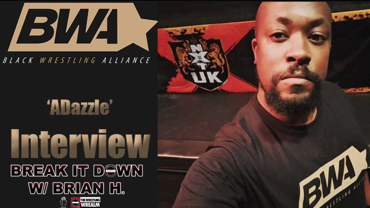 #TBT: A Dazzle, the founder of @BlackWrestlingA joined Break It Down W/ @BrianHWaters and shared how the page got started.   YouTube: