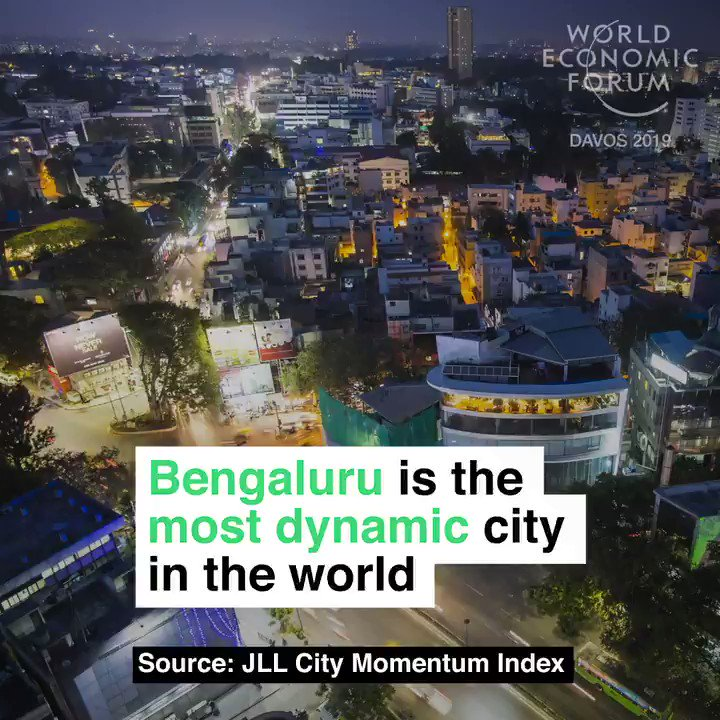 It has been dubbed the 'Silicon Valley' of India. Read more: https://t.co/NpWiYhD4Uv #india #innovation #wef19 https://t.co/FoOYMmzQ3q