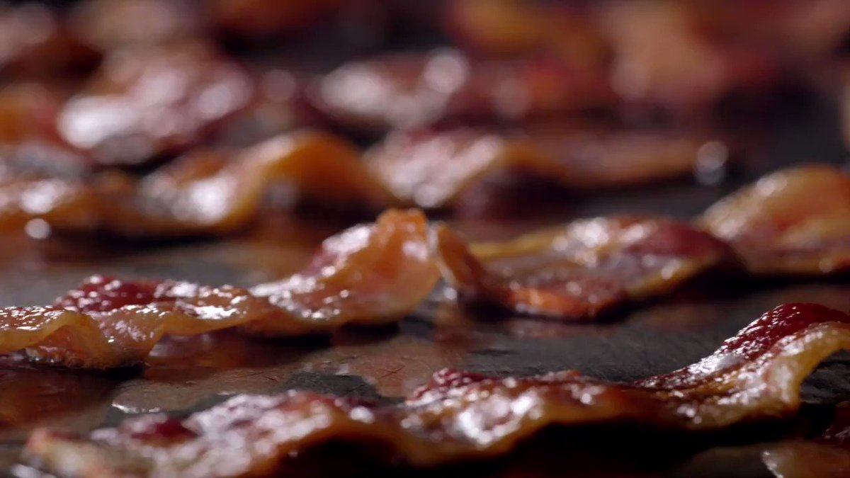 Image for the Tweet beginning: With bacon coming to the