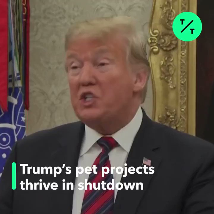 Government programs that don't align with Trump's agenda are going dark faster than favored ones during the shutdown.  Critics say the president is weaponizing the funding lapse