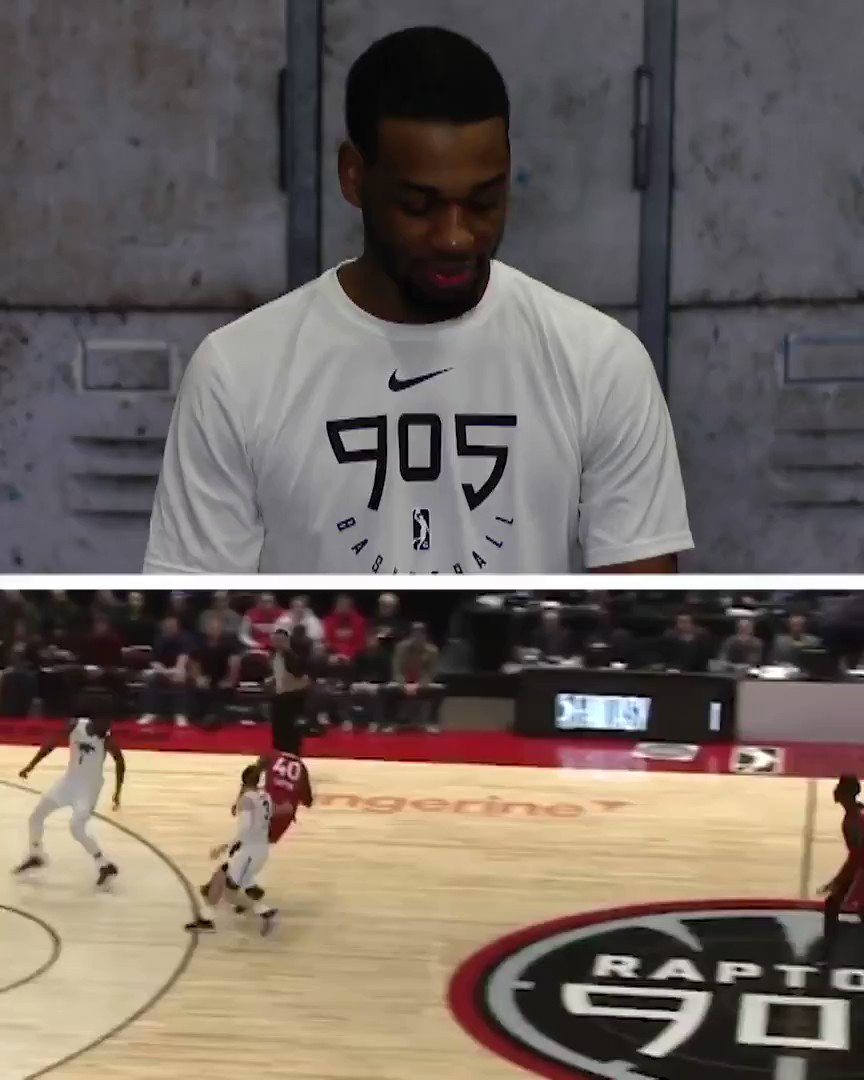 """""""GOOD LOYD!""""  Before he leads @Raptors905 on @NBATV (2 pm/et) in the #NBAGLeague Game of the Week... Jordan Loyd (@MrJLoyd) relives the POSTER dunk that landed him on @SportsCenter & had his notifications on 🔥 #GLeagueTopPlay"""